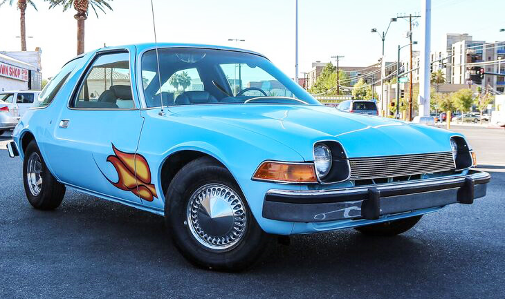 The AMC Pacer from 'Wayne's World' has been restored to its movie spec | Barrett-Jackson