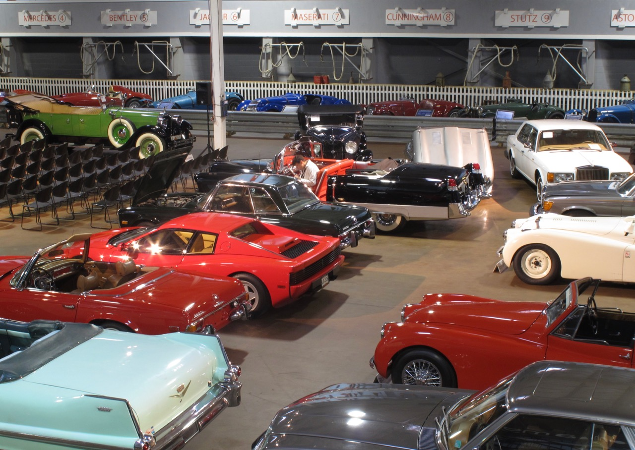 Each year, the Simeone museum hosts auction to encourage preservation of historic vehicles   Bonhams photos
