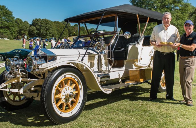1909 Rolls takes Best of Show at new Atlanta concours