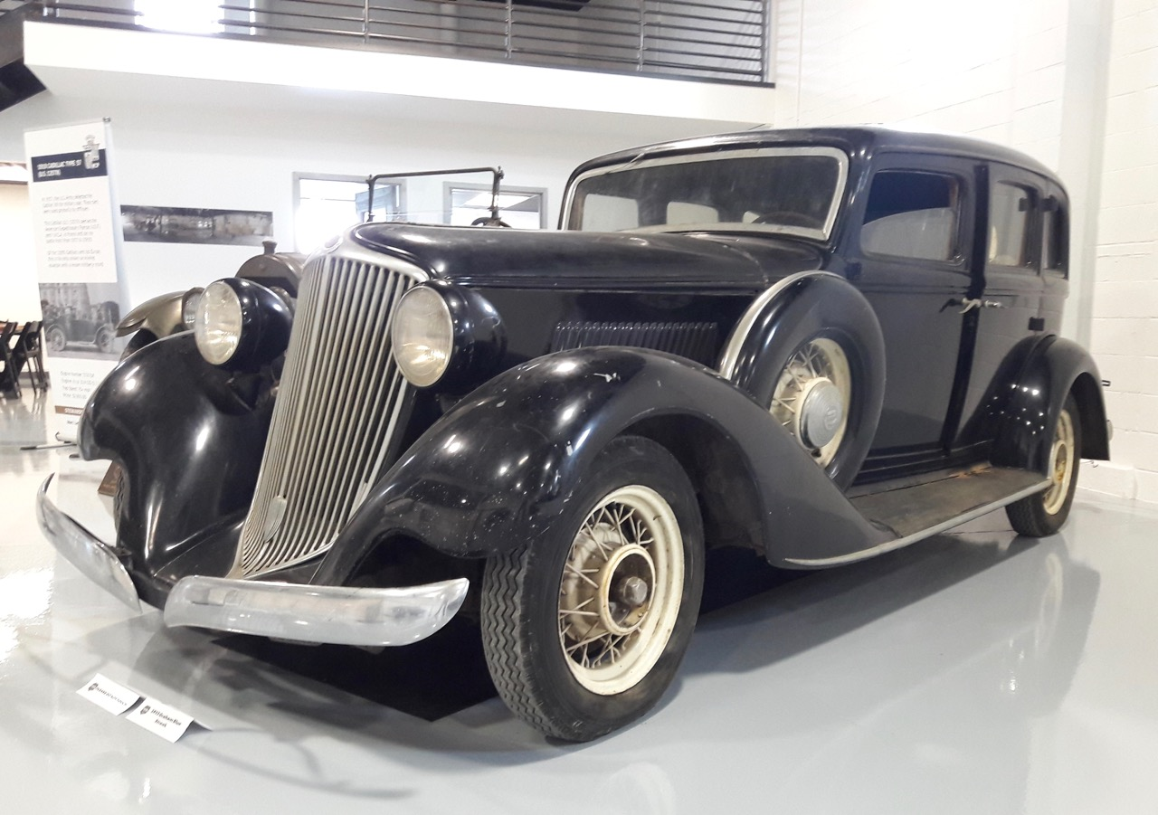 1932 Graham Blue Streak at the HVA documentation center