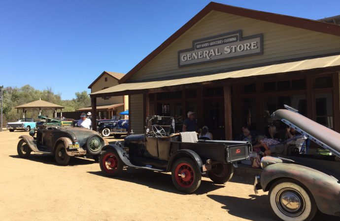 Cars & Characters: The reunion at Paramount Ranch