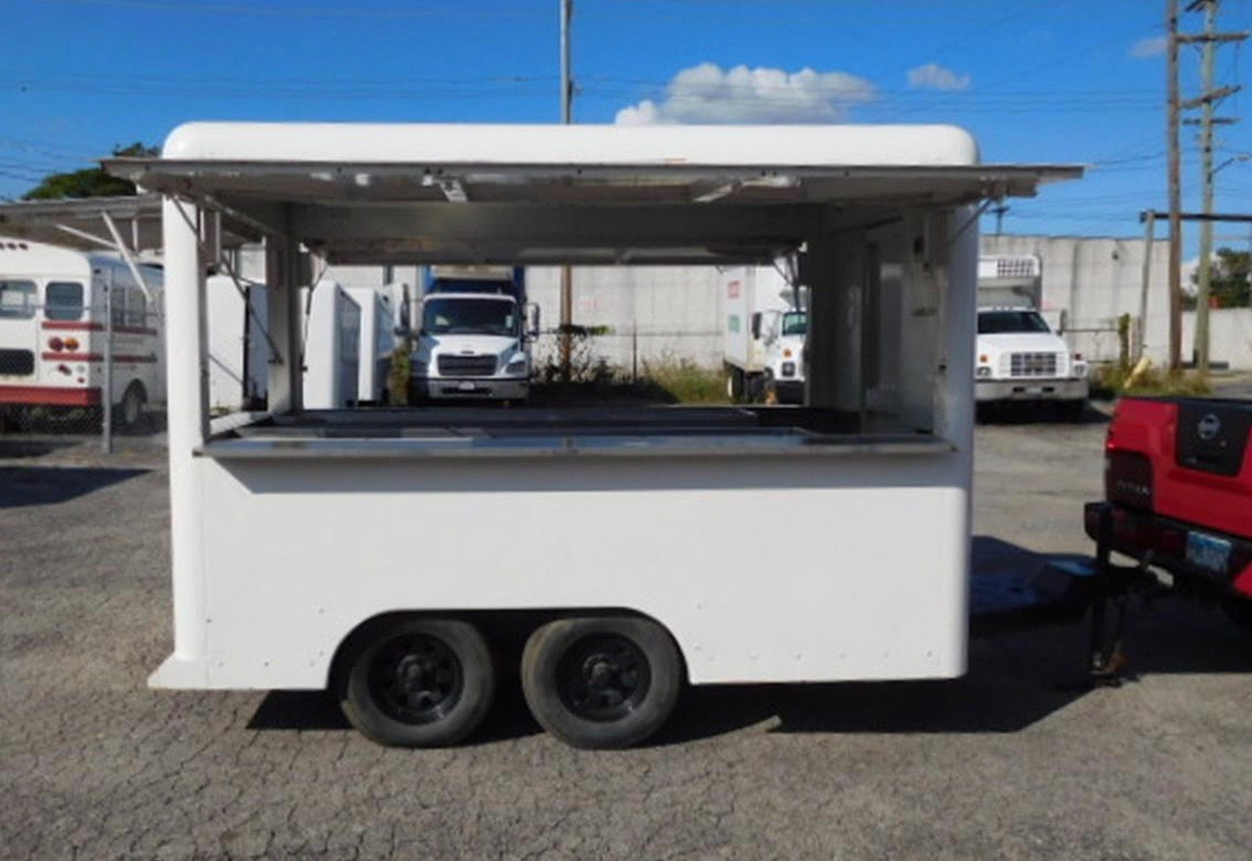 1984 Waymatic S is a concession trailer ready for a swap meet or picnic