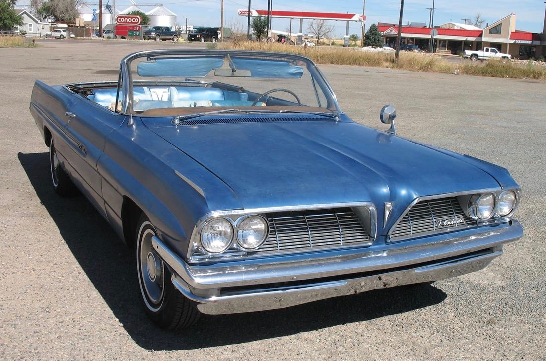 This '61 Pontiac Catalina's full story is yet to be discovered