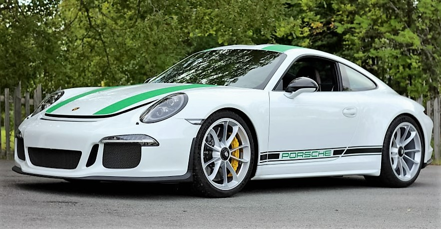 A 2016 Porsche 911 R Type 991 sold for more than a half million dollars
