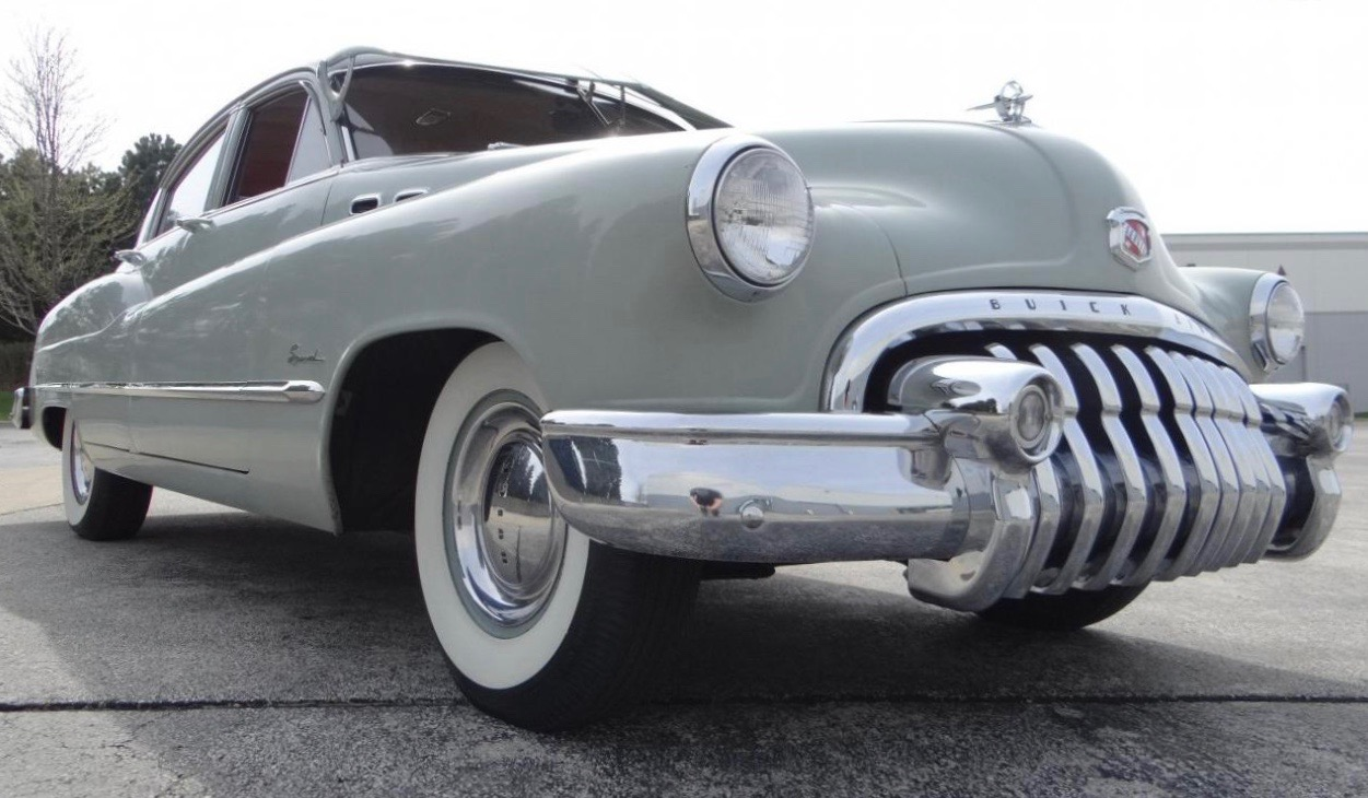 1950 Buick Special is original and unrestored, and has traveled only 23,000 miles since new