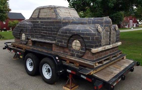 It's the Pontiac 'that won't rust,' says artist