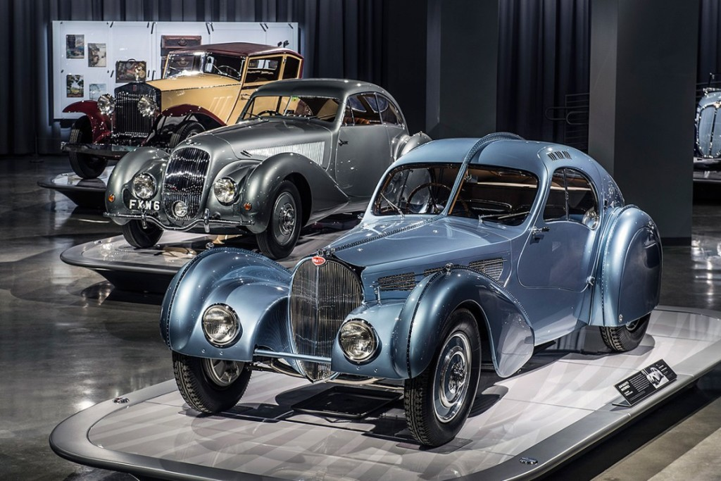 Some of the classic cars recently on display in the Petersen Automotive Museum