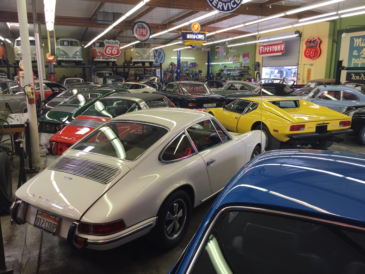 Michael Malamut's collection isn't a museum, but he opens it to car and charity groups | Larry Crane photos
