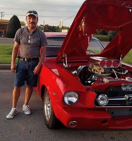Joe and his Mustang