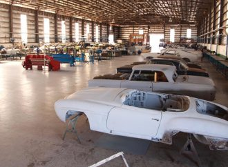 A peek inside the world's largest classic car restoration shop