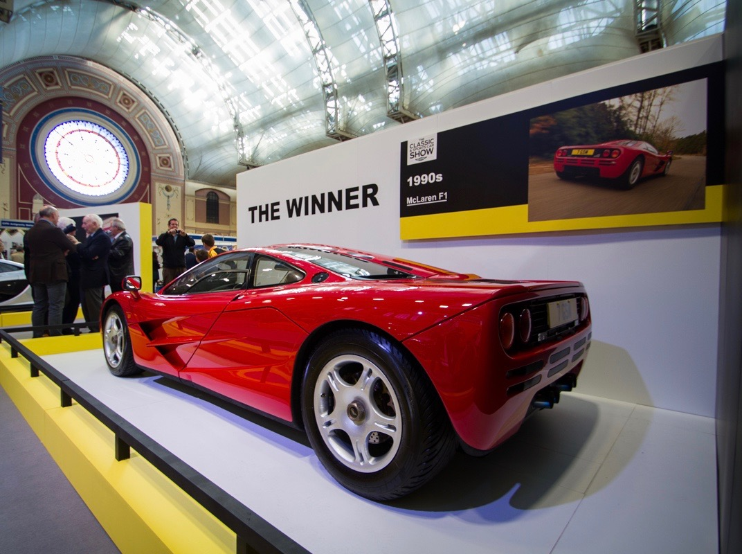 McLaren F1 takes the title as 'greatest supercar ever' | Classic & Sports Car show photos