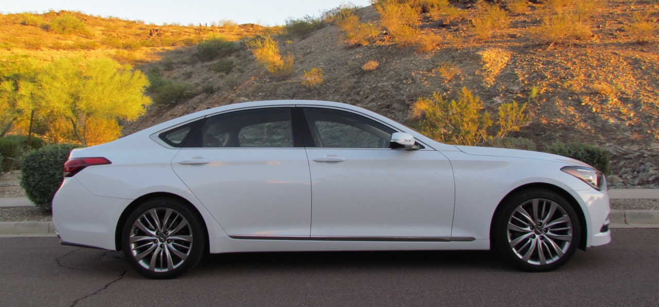 2017 Genesis G80 is one of two models that are part of Hyundai's new stand-alone luxury lineup | Larry Edsall photos