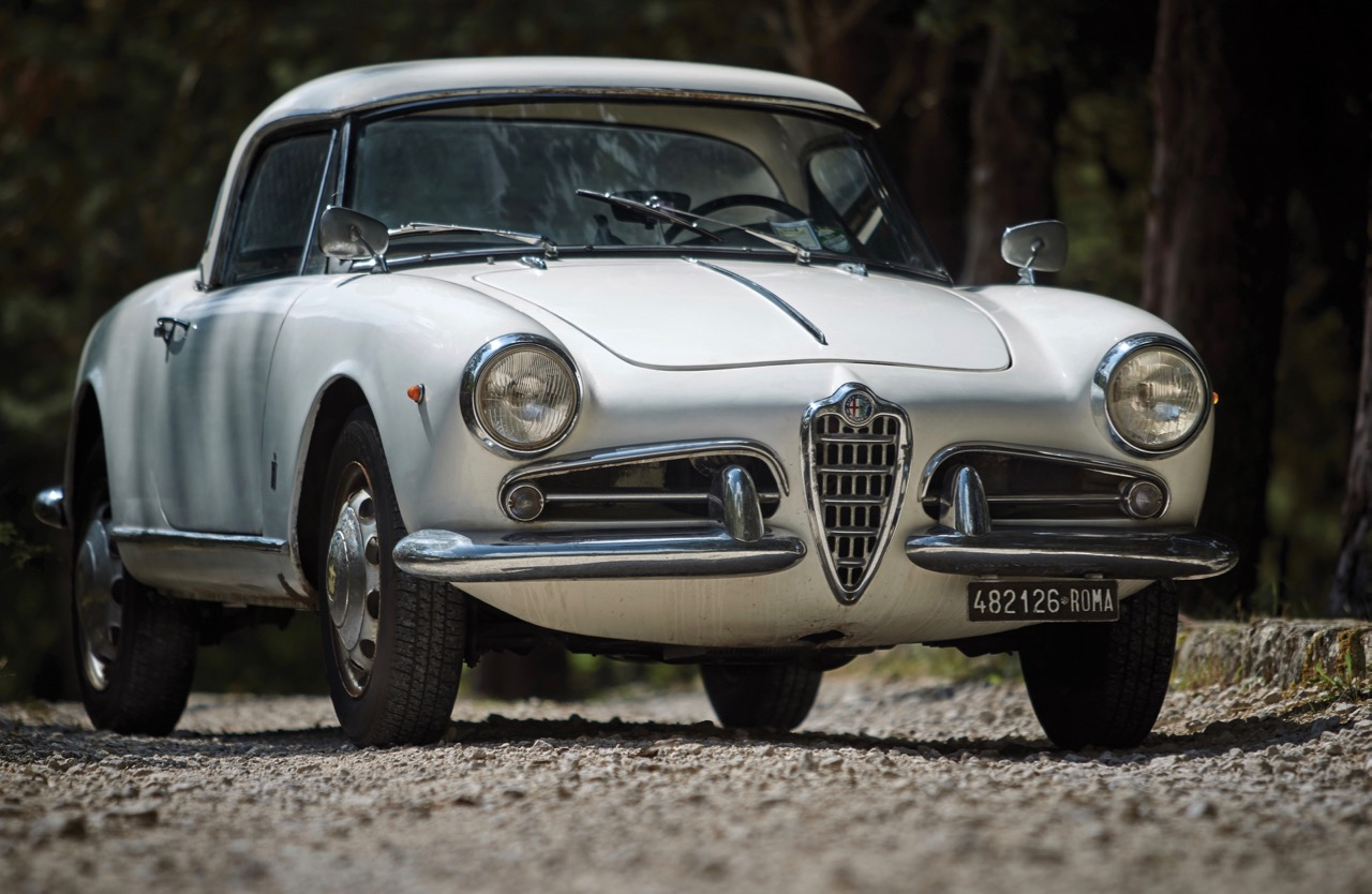 Kenny Schachter bought this 1961 Alfa Spider at RM Sotheby's London sale | RM Sotheby's photo by Cymon Taylor