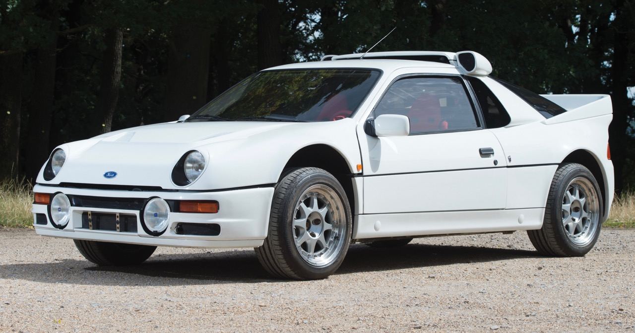Father and son turned as white as the car until someone bid more for this RS200