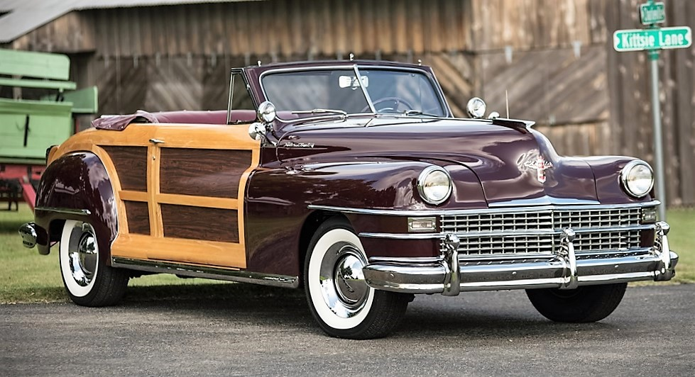 The 1946 Chrysler Town & Country convertible