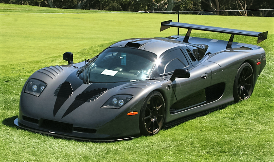 The ulta-exotic Mosler MT900 GTR twin-turbo custom prototype