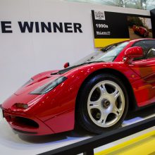 McLaren F1 selected as 'greatest supercar ever'