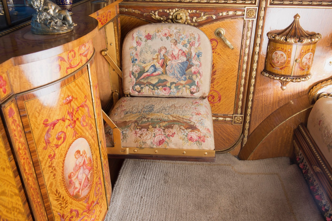 Upholstery is a work of art