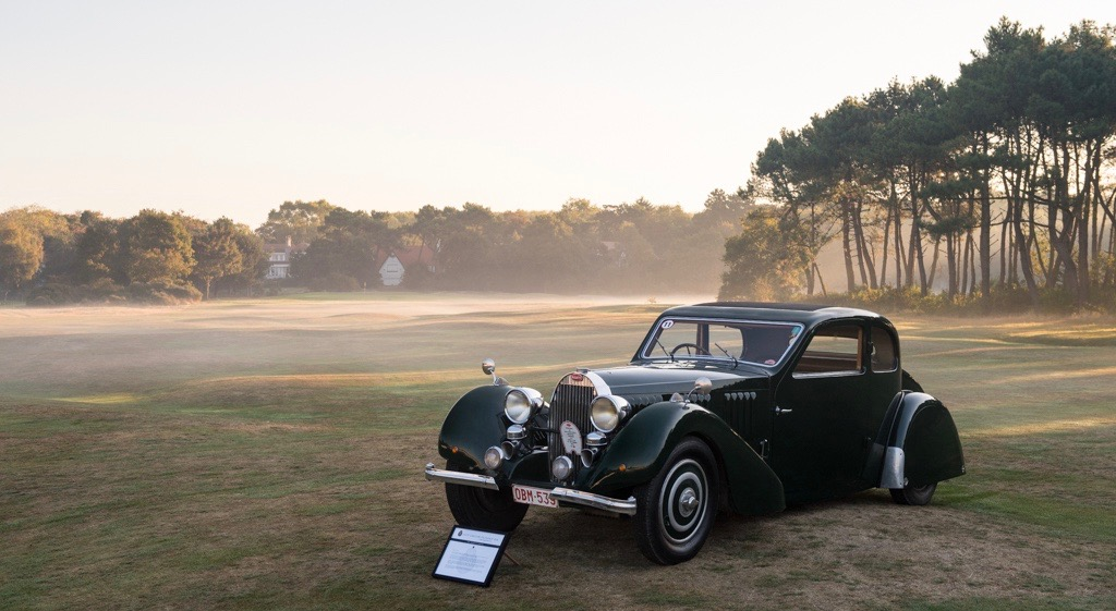 1937 Bugatti T57 Ventoux displayed at Zoute Grand Prix concours as classic car season comes to an end | Dirk de Jaguar photography