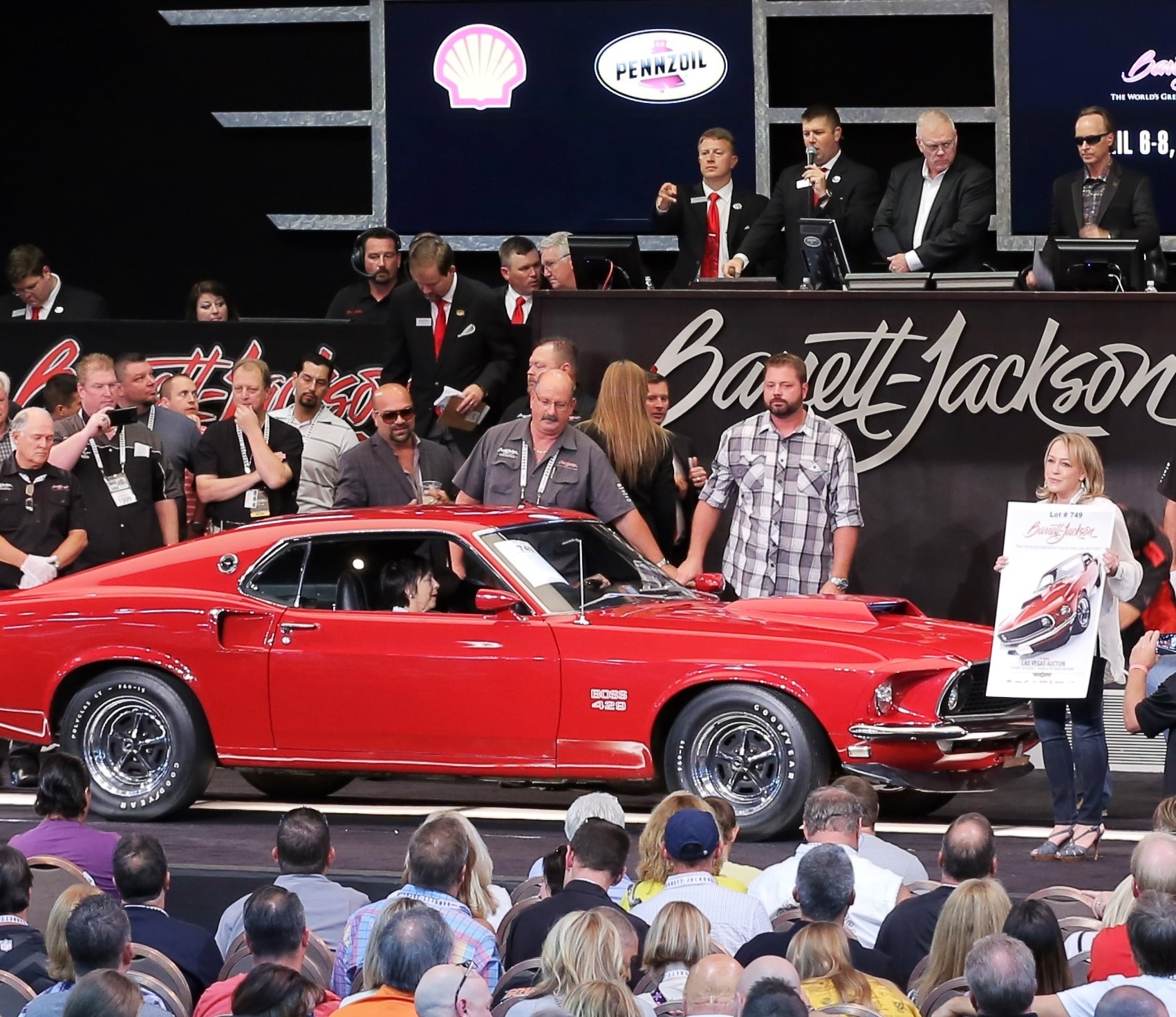 Barrett Jackson Raises The Stakes At Las Vegas Auction Classiccars