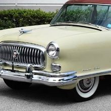 1952 Nash Ambassador coupe