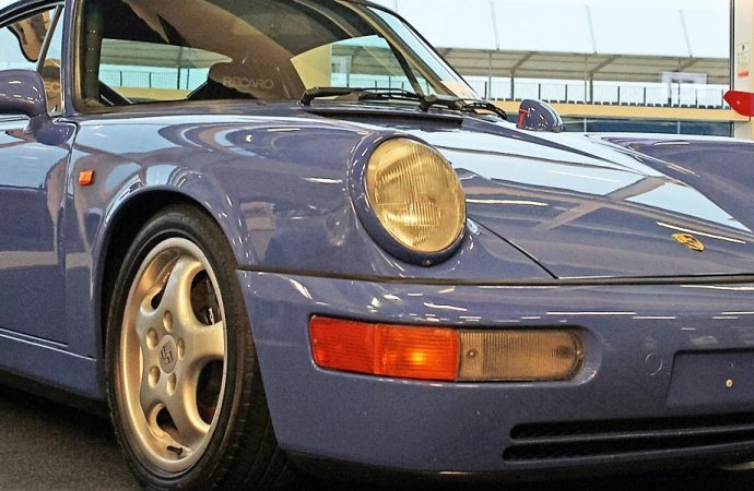 Performance Porsches race to top at Silverstone auction