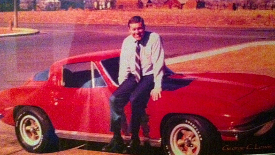Darrell's father and the Corvette