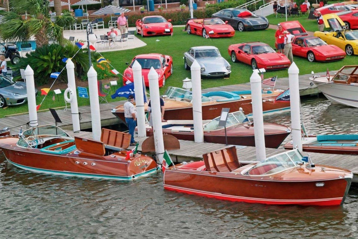 Keels & Wheels concours features both collector cars and vintage wooden boats | Keels & Wheels photo