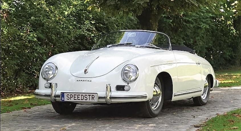 A 1955 Porsche 356 Speedster reached more than $650,000 | Bonhams photos