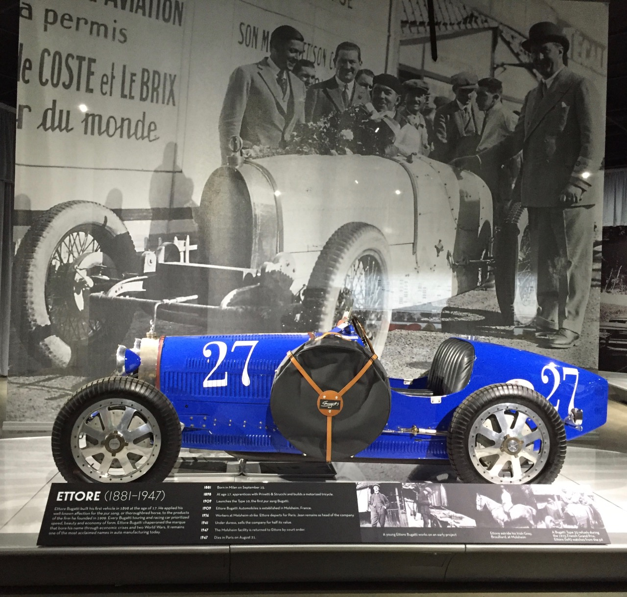 Ettore's famed T35 grand prix racer