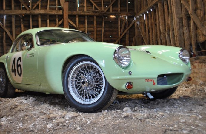 Record-setting 1958 Lotus Elite paces Silverstone sale