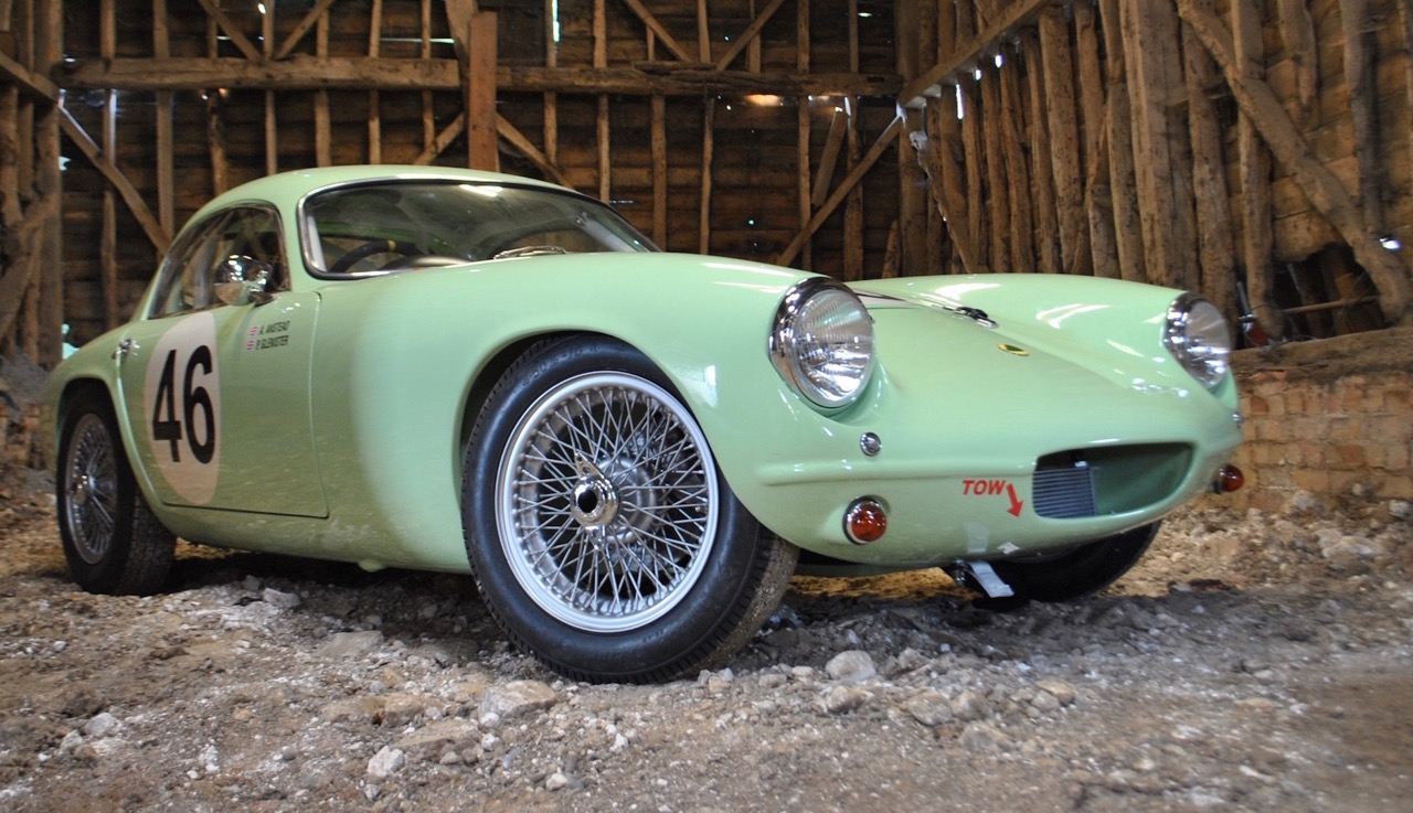 Restored 1958 Lotus Elite Series I going from auction block to British TV show | Silverstone Auctions photos
