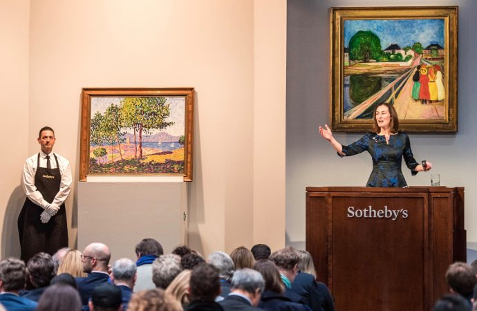 Art auction headlines bode well for upcoming collector car sales