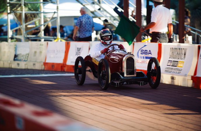 At the wheel: Driving in the Grand Prix of Scottsdale