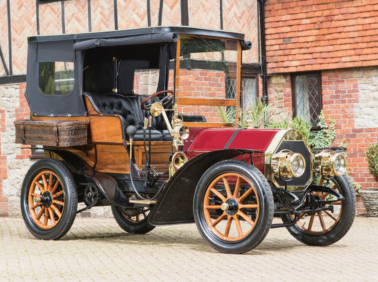 New owner plans to run 1904 Aster in the rally Sunday
