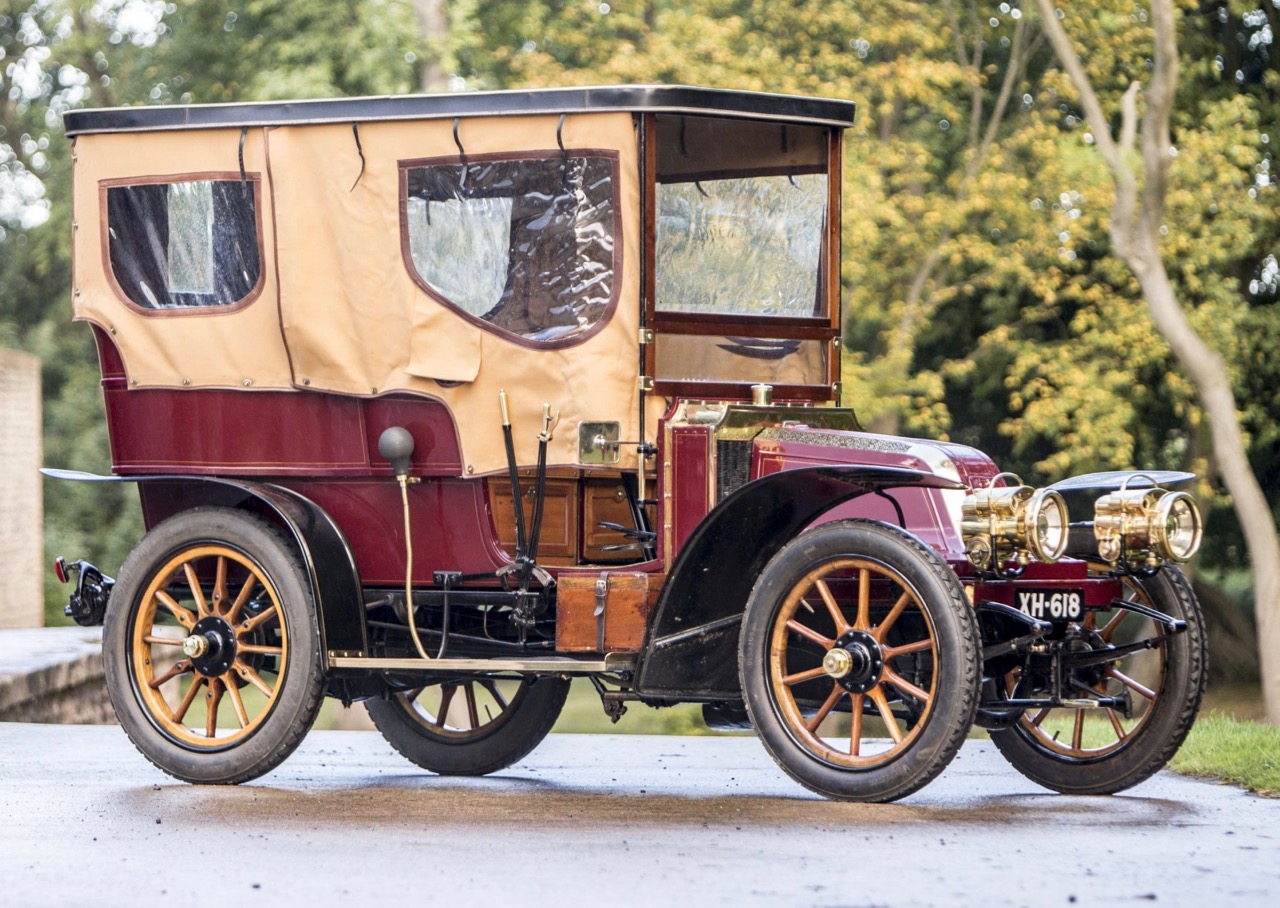 1904 Renault is top-seller at Bonhams' London to Brighton auction | Bonhams photos