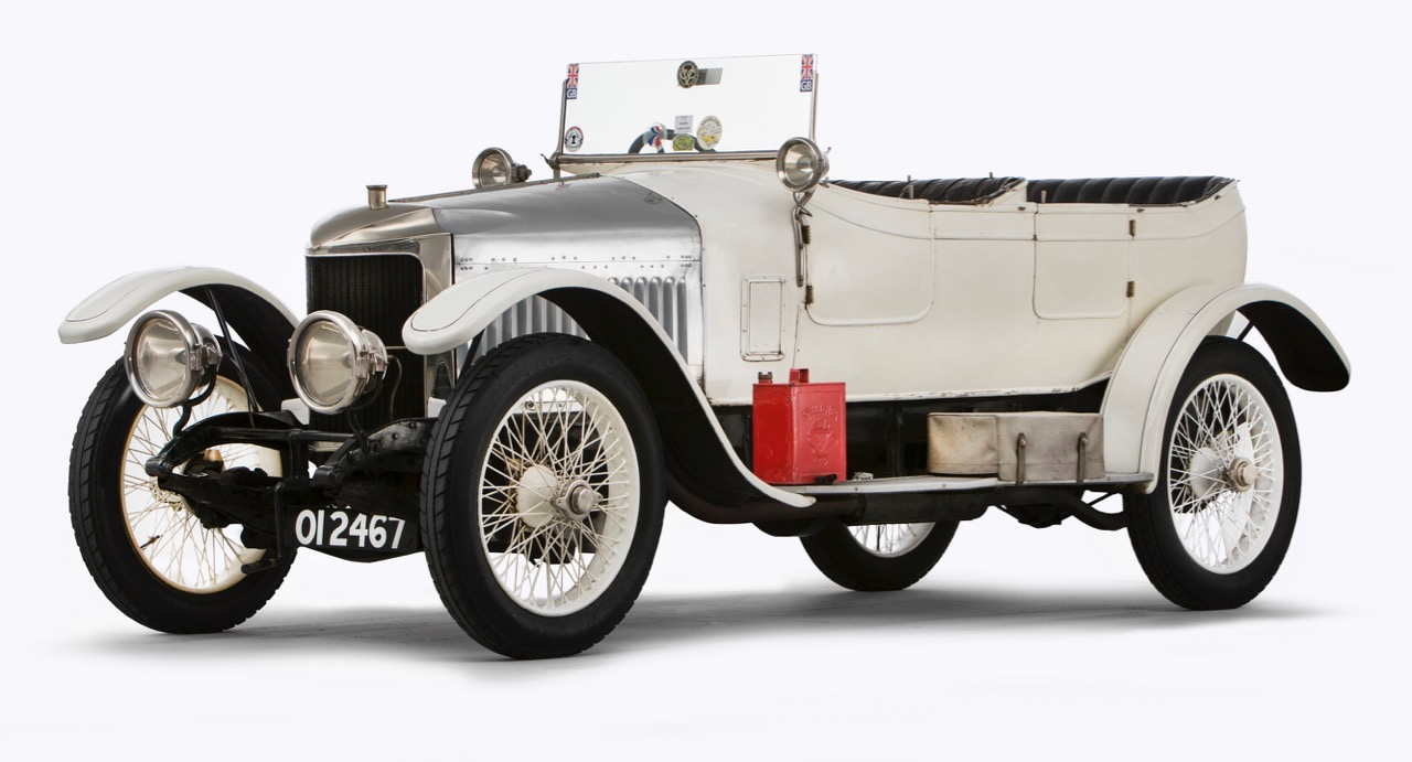 1914 Vauxhall 'Prince Henry' Sports Torpedo is considered the first 'sports car'