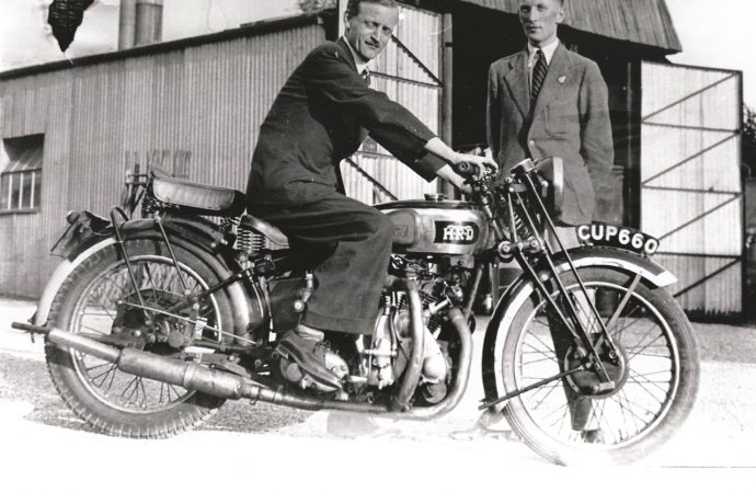 It's a $341,700 homecoming for famed British bike
