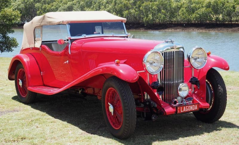 1934 Lagonda M45 Rapids offered by family that has owned it for 82 years