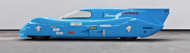 Streamliner set world speed recording 1997 for vehicle with 500cc or smaller engine | Mossgreen Auctions photos