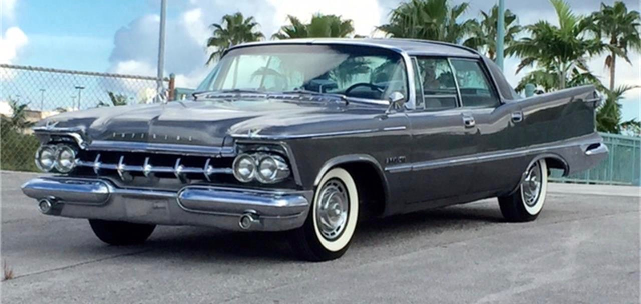 1959 Chrysler Crown Imperial was owned by the seller's father, who bought it after its restoration