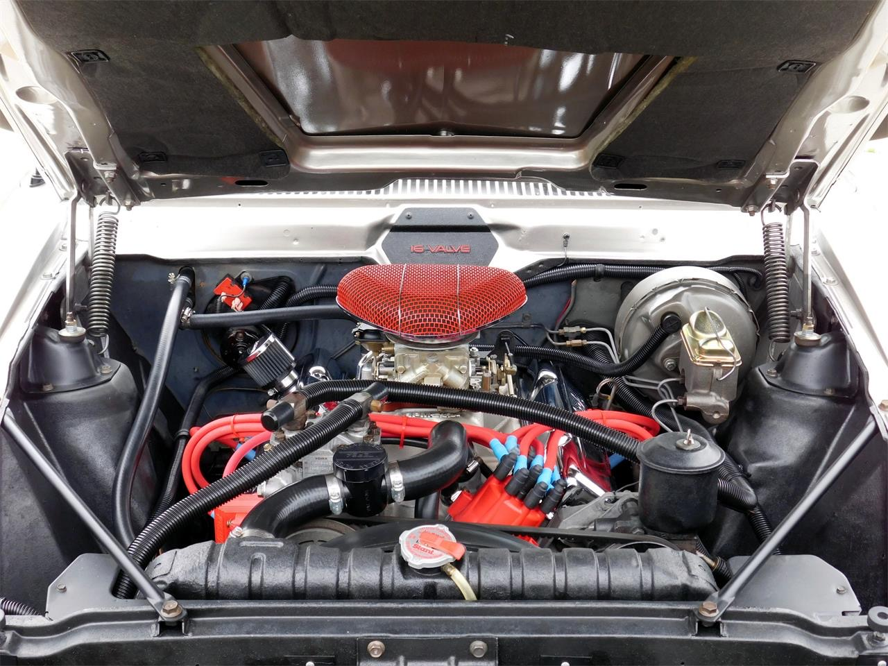 Engine bay simplified, reorganized