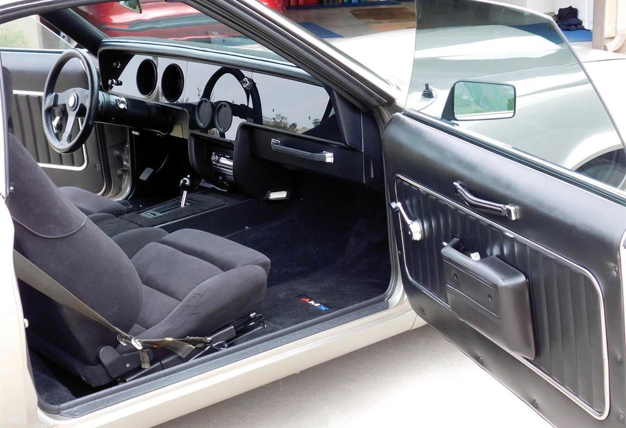 Revised interior