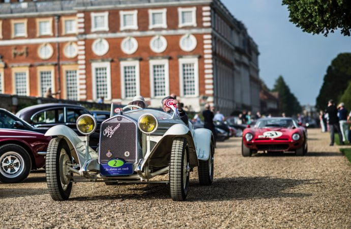 Britain's 2017 royal concours set for Hampton Court Palace