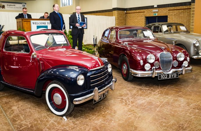 Brightwells schedules three 2017 auctions at Bicester Heritage