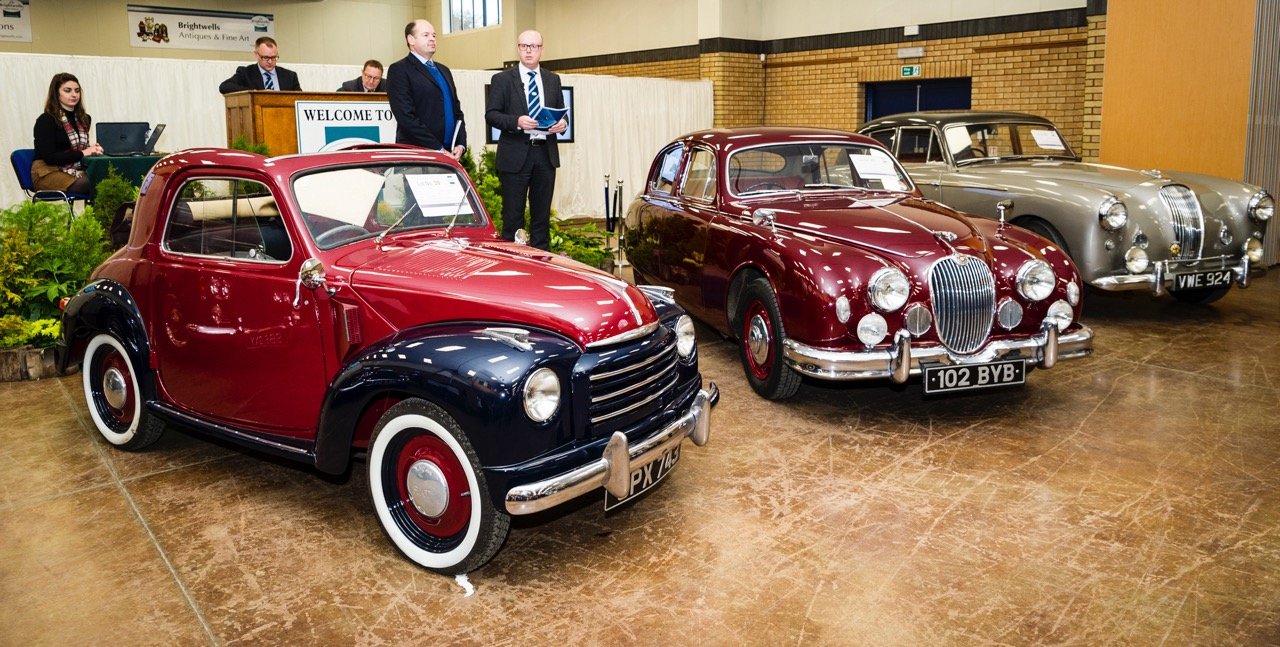Bicester Heritage welcomes Brightwells as resident auction house | Bicester Heritage photos