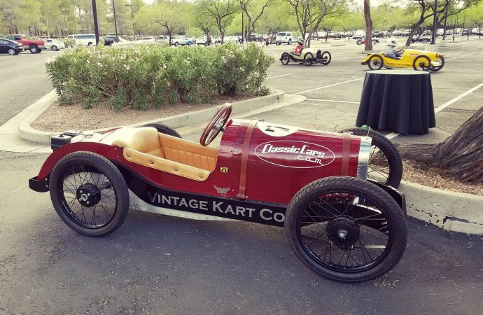 ClassicCars.com staff races back to the '20s in Scottsdale event this weekend
