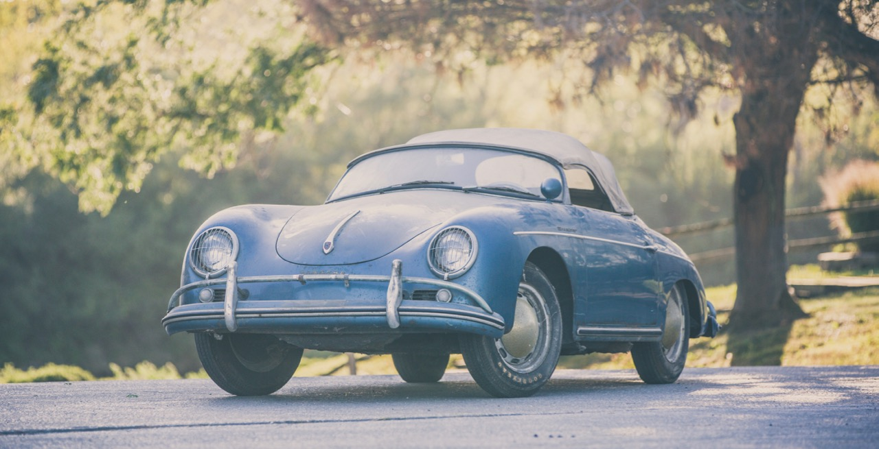 Stored in a Chicago area garage for 40 years, this Speedster soared beyond its pre-sale estimated value | Auction America photo by Teddy Pieper