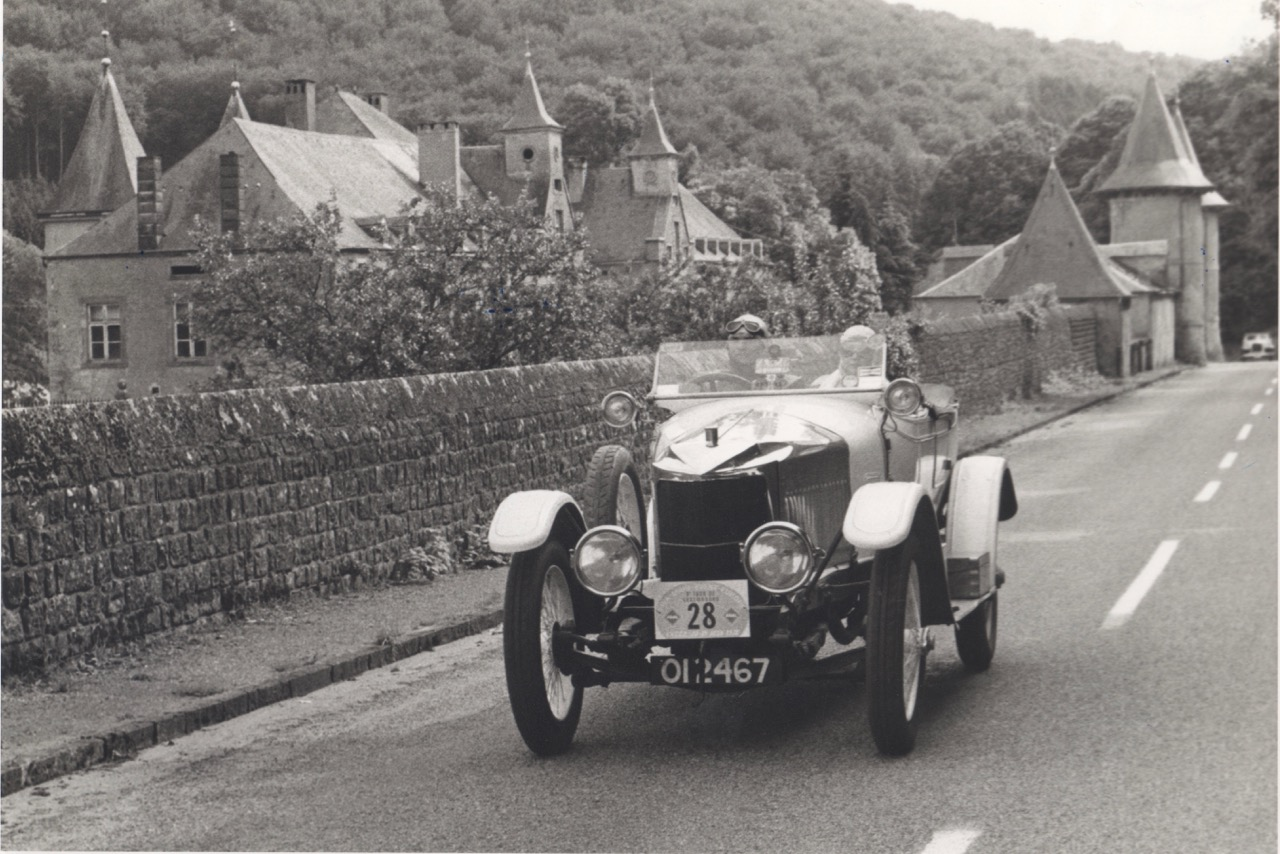 The 'Prince Henry' on the road somewhere in France | Bonhams photos