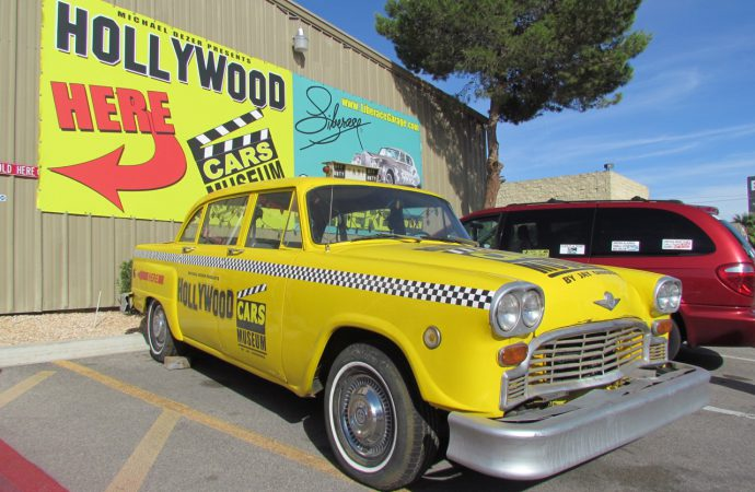 Leaving Las Vegas? Not until you visit the Hollywood Cars Museum